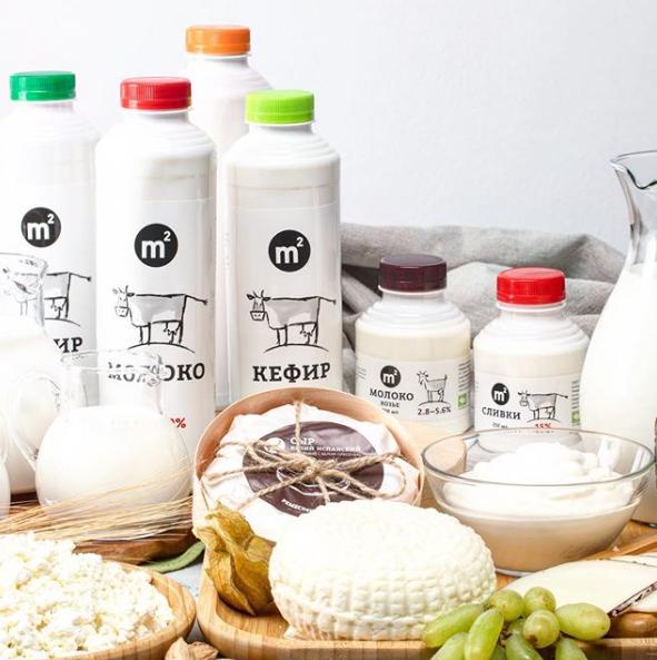 Кисломолочные продукты Фермы М2